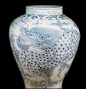 Cerámica coreana de la dinastía Yi