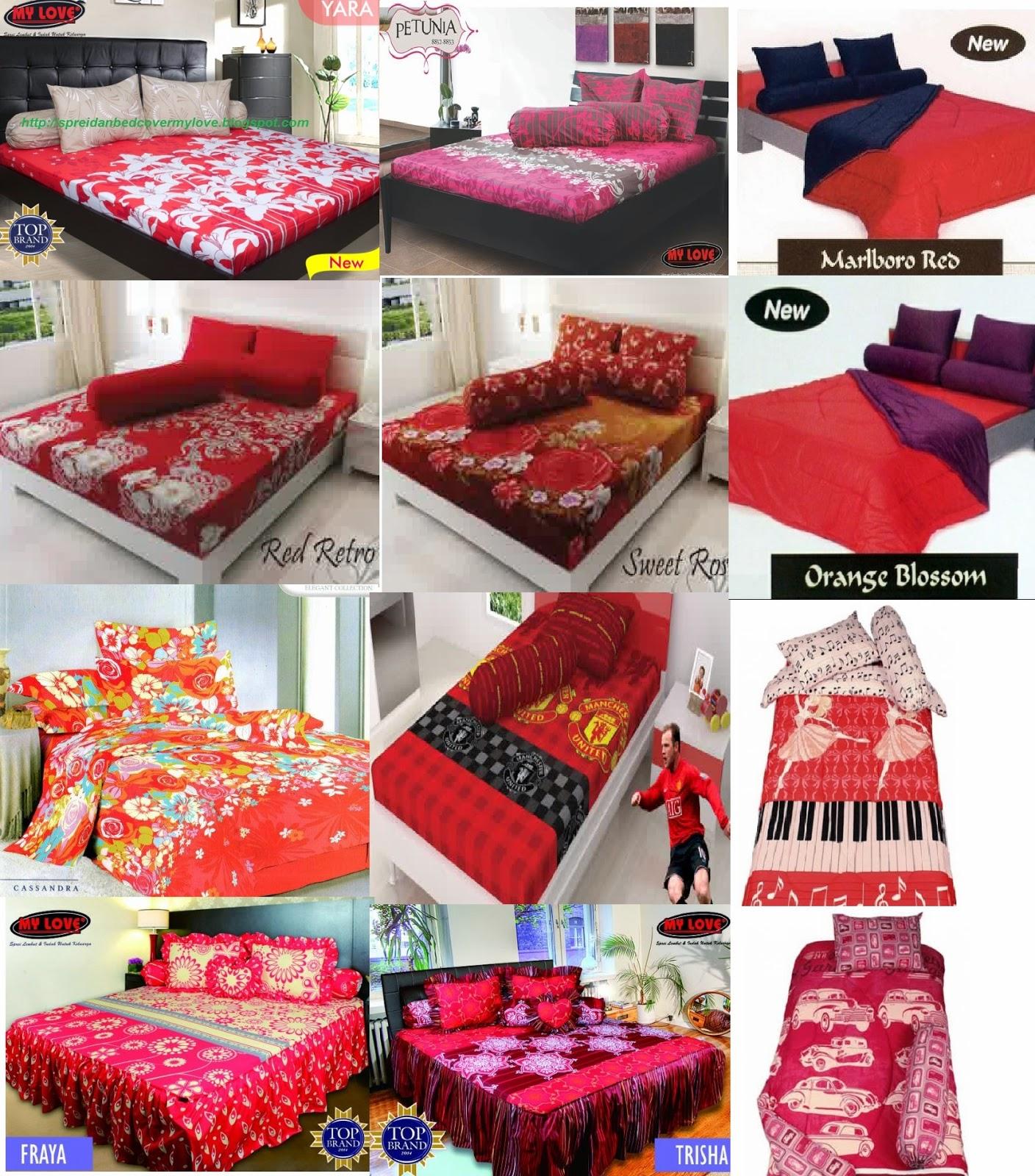 Bed cover my love anak - Warna Untuk Kamar Tidur Anda