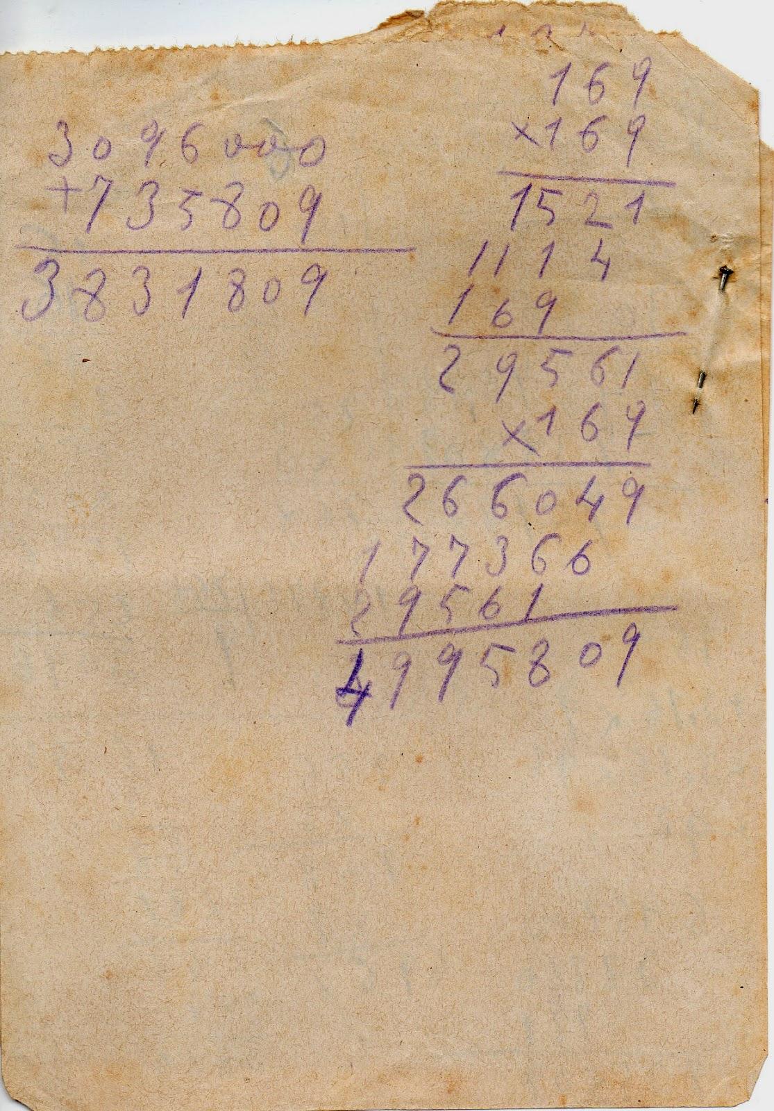 Melitina Álvaro Blázquez - Material escolar - 1933-1940 - Cuentas con aguja