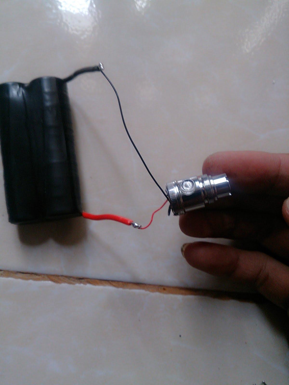 Tempatnya Otak Atik Bengkel Kreatif Mengganti Batere Rokok Elektrik Elektric Evod 1100mah Lubangilah Box Atau Tempat Yang Baru Untuk Meletakkan Panel Tersebut