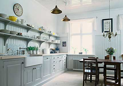 Kitchen On One Wall