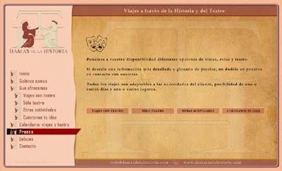 web de Viajes a través de la Historia y el Teatro: Damas de la Historia