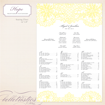 print your own diy wedding reception seating chart design