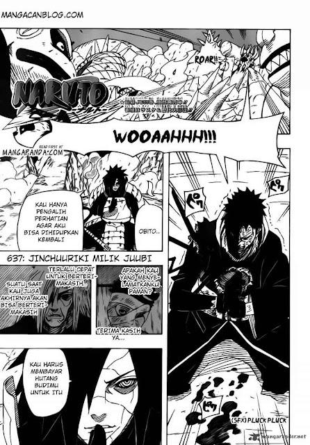 Komik Naruto 637 Bahasa Indonesia halaman 1