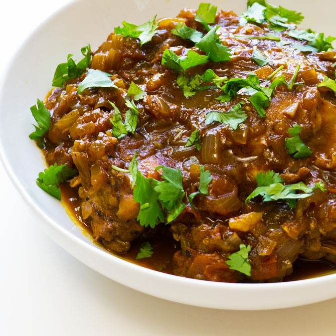 Savory Chicken in Port Sauce