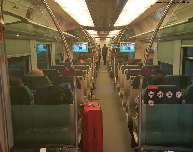 KLIA Express Train to KL Sentral