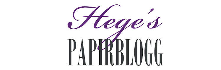 Heges papirblogg