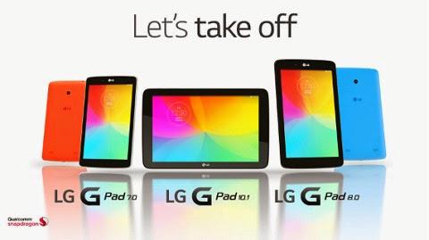 LG G PAD FAMILY