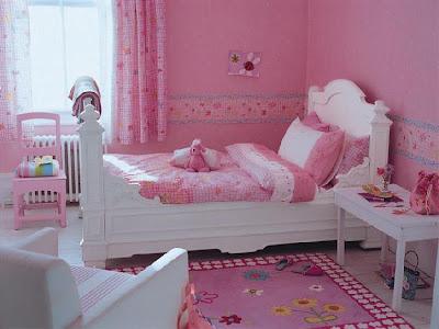 Dormitorios color rosa para ni as rom nticas dormitorios - Dormitorio infantil nina ...