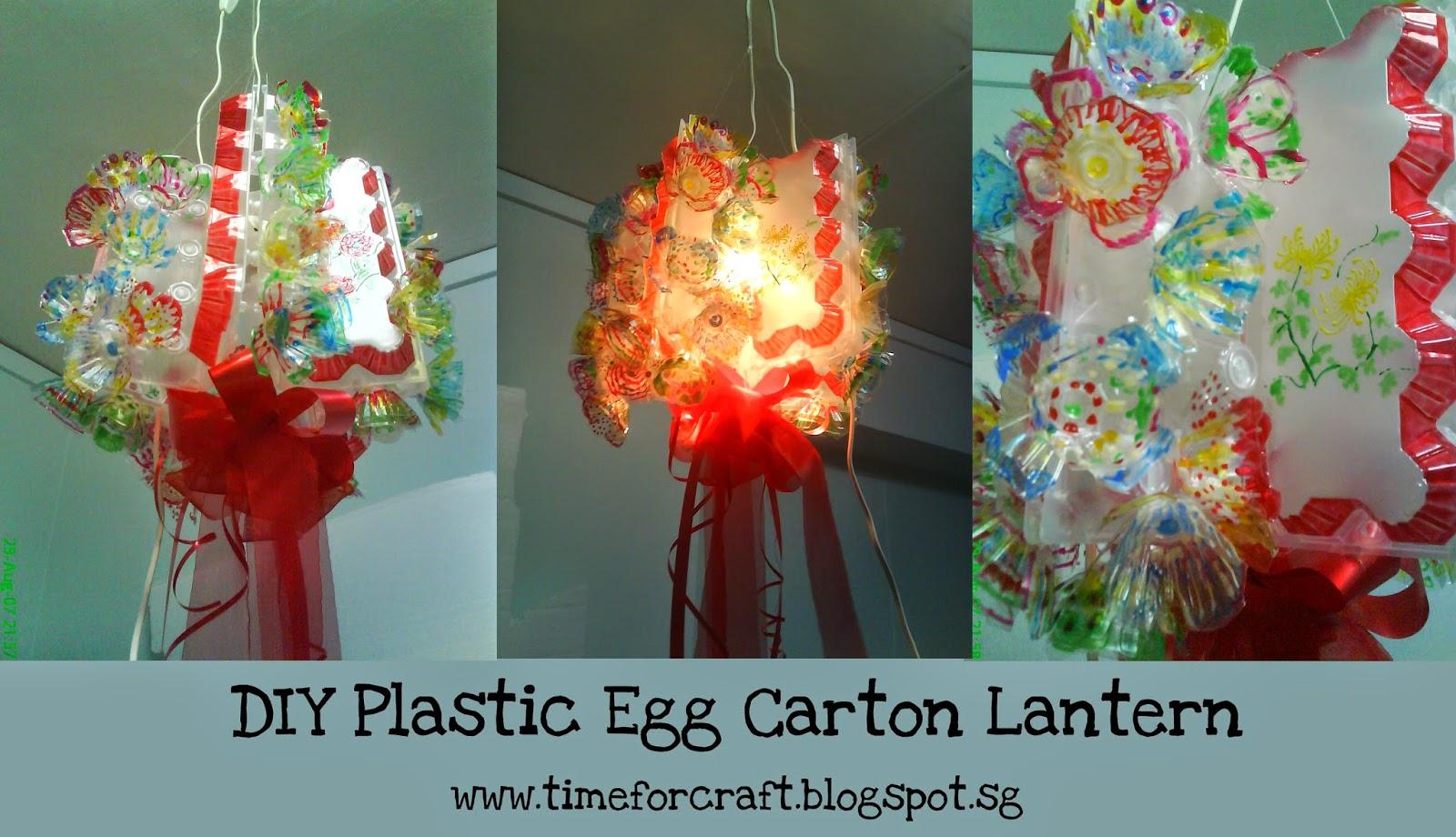 Clear Plastic Egg Carton Crafts