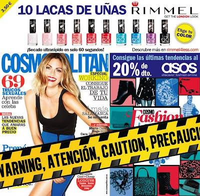 Revista Cosmopolitan septiembre 2013