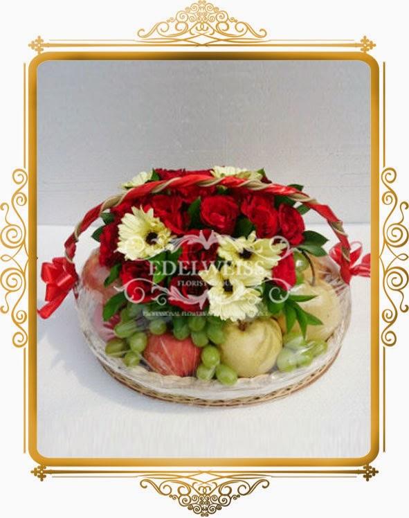 toko parcel bunga dan buah, toko bunga, bunga ucapan seomga lekas sembuh, bingkisan buat orang sakit