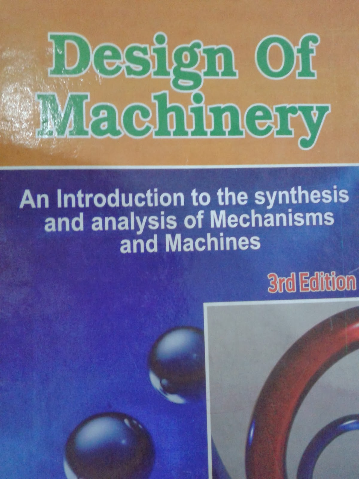 DESIGN OF MACHINERY 3RD EDITION NORTON SOLUTION MANUAL