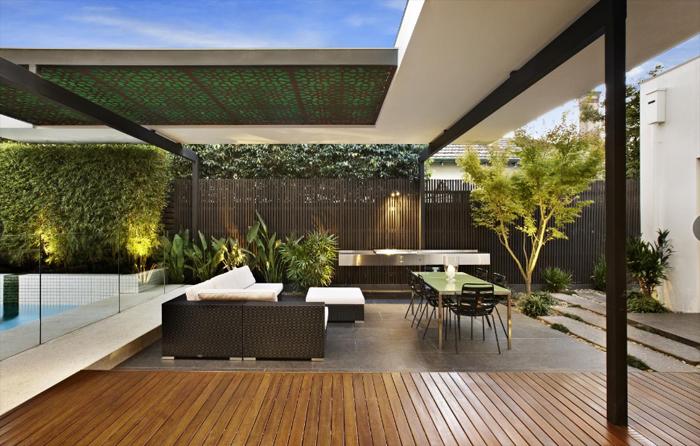 Casas minimalistas y modernas quinchos minimalistas for Parrillas para casas modernas