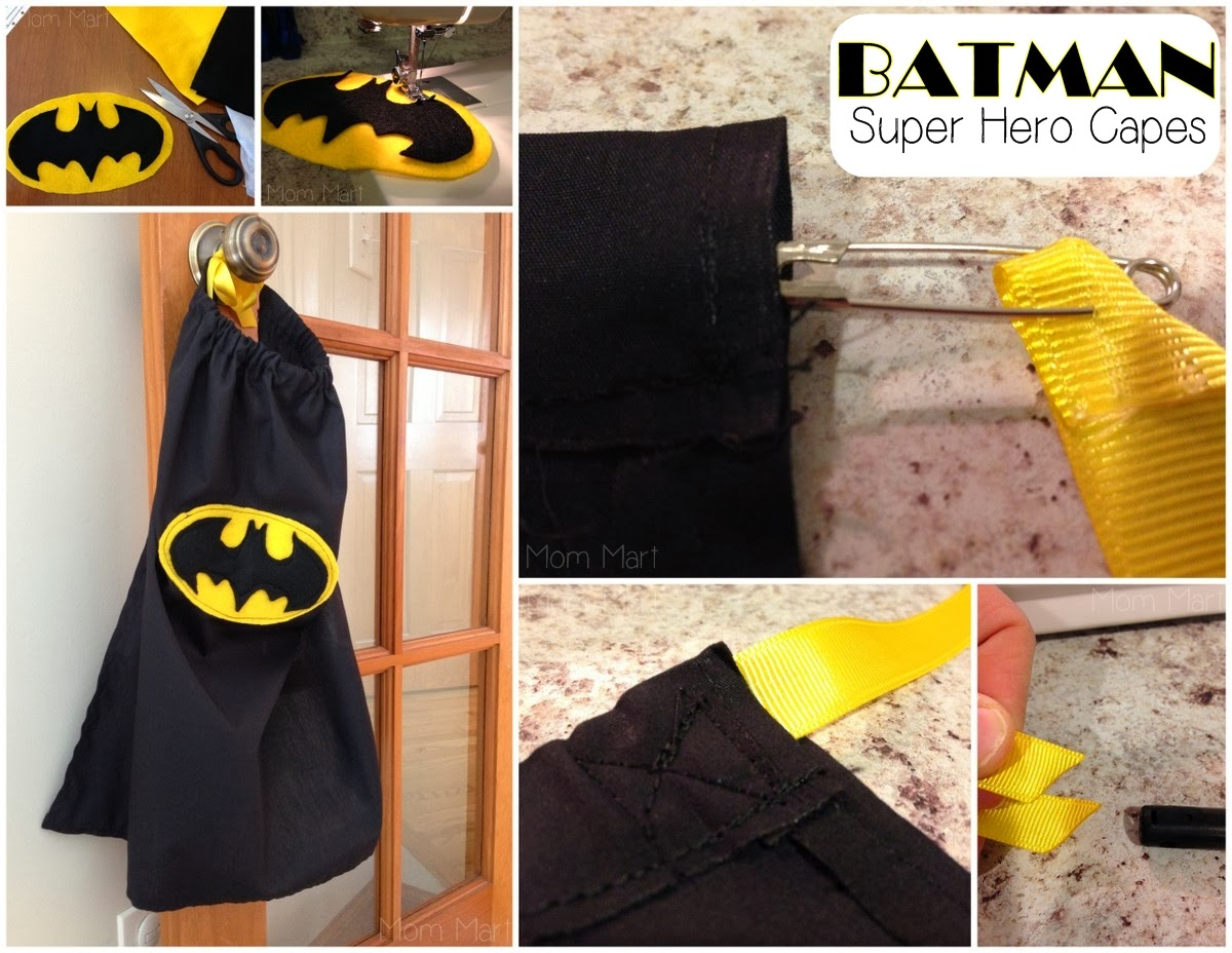 Batman Themed Birthday Party #FreePrintables #Batman #BatmanParty #BatmanCapes