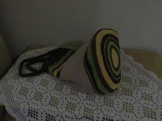 Bolsa em crochê sem receita feita em ponto baixo