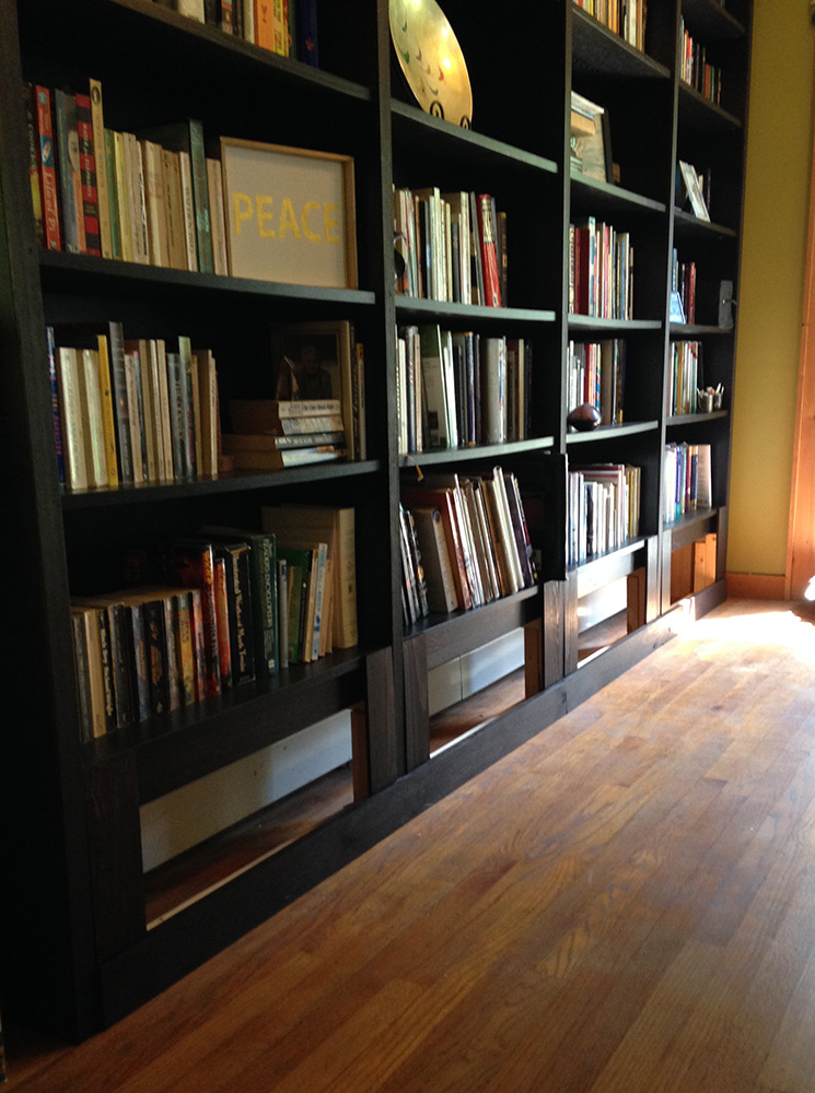 Chary Sprouts Custom Built In Ikea Billy Bookcases