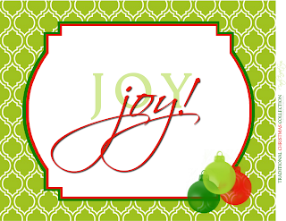Traditional Christmas Candy Buffet Label Collection