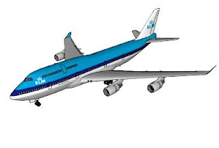Trimble 3D Warehouse - Royal Dutch Airlines Boeing