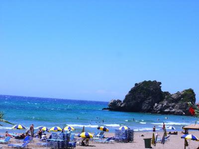 Spiaggia  di Corfù Pelekas