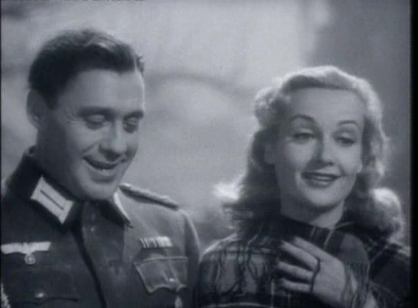 "Carole Lombard and Jack Benny in ""To be or not to be"" (1942)"