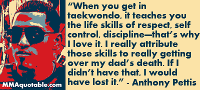 Taekwondo Quotes Captivating Motivational Quotes With Pictures Many Mma & Ufc Anthony Pettis