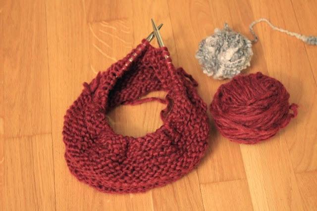 Scaldacollo con lana riciclata