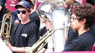 Geelong Christian College Band at Manly
