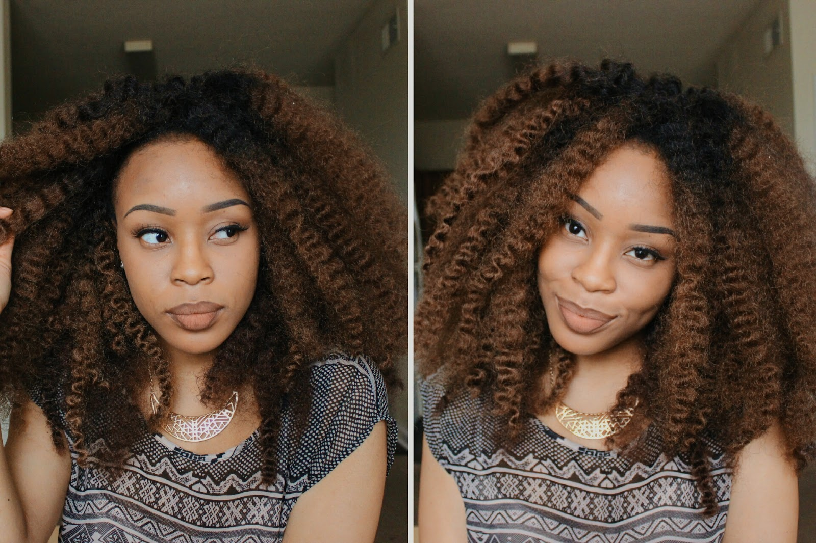 Super Kilahmazing Ombre Crochet Wig Youtube Debut Hairstyle Inspiration Daily Dogsangcom