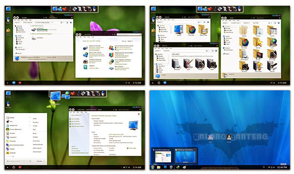Screenshot molk skin pack hanya untuk windows 7