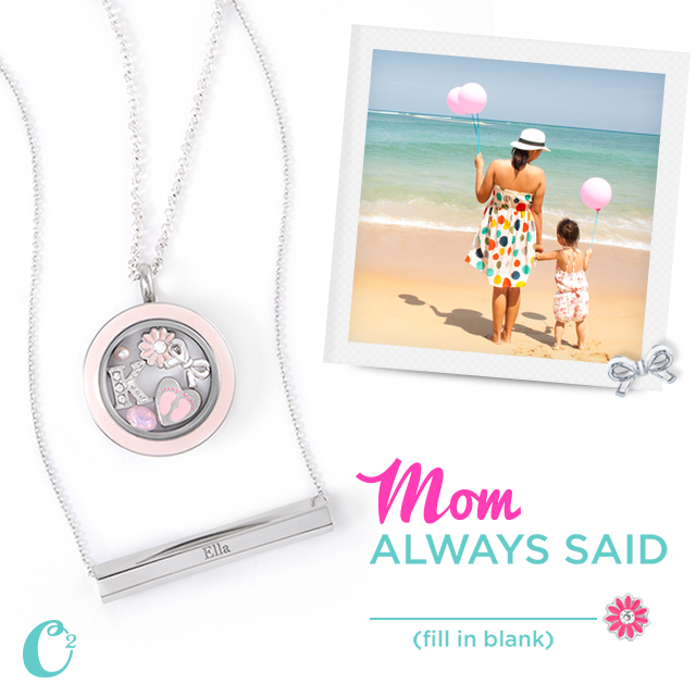 Origami Owl Custom Jewelry for Mom available at StoriedCharms.com