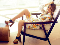Actress, Model, @ Ashley Benson - Ocean Drive photoshoot by Randall Slavin