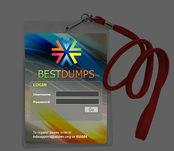BestDumps.biz doesn't allow newly registered visitors the opportunity
