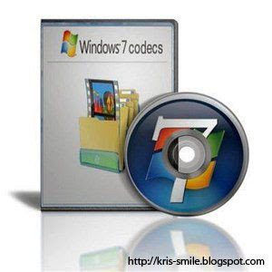 Windows 7 codecs atasi Masalah Codecs untuk Media Player Classic, GOM Player, Window Media Player Dll