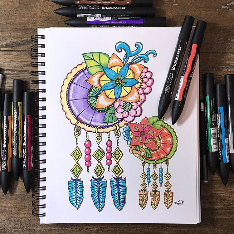 Berbagai Macam Ide Doodle Art di Tumblr
