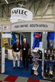 Peter Sunderland of Fram/Wayne and Miles O'Brien of Jordan & Co at SAFLEC