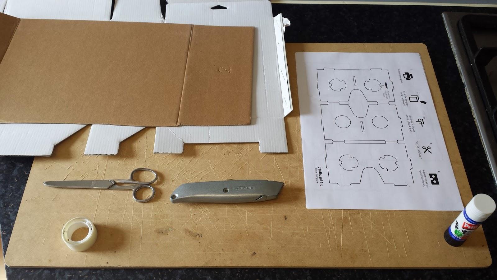 retrobacon google cardboard or flatpack vr or the maketrix i 39 ll stop now. Black Bedroom Furniture Sets. Home Design Ideas