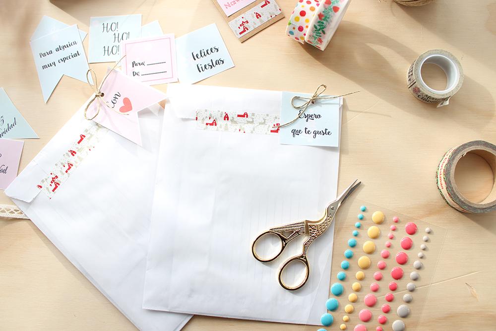packaging bolsas de papel decoradas para navidad On decorar sobres