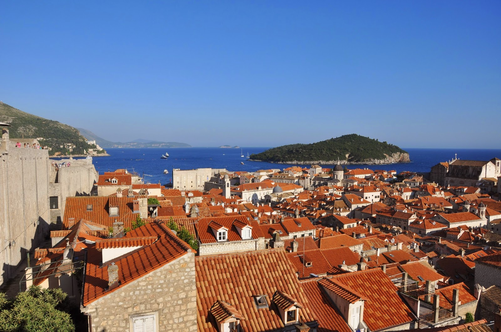 City Wall, Old Town, Dubrovnik