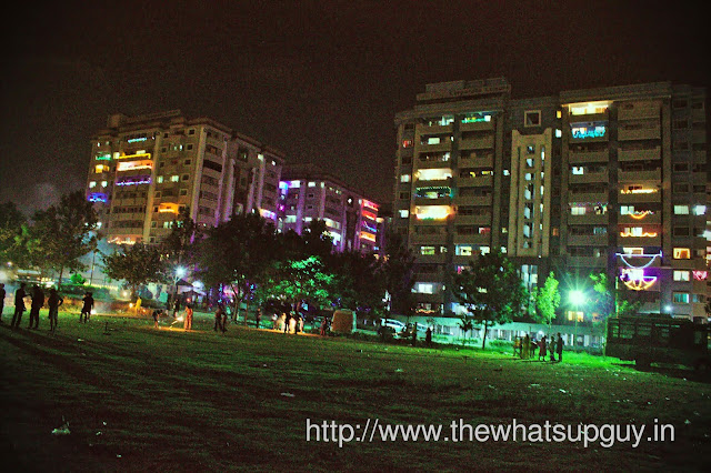 Suncity Playground During Diwali