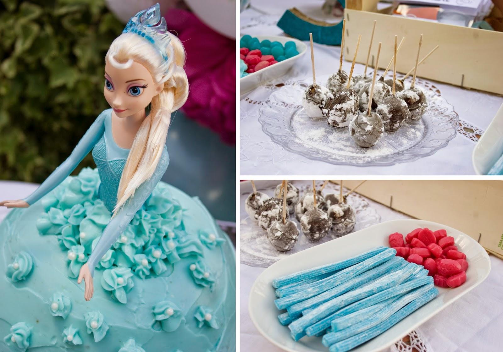 Diariodeco14 Candy Bar Frozen Para La Princesa Sorteo Decorar
