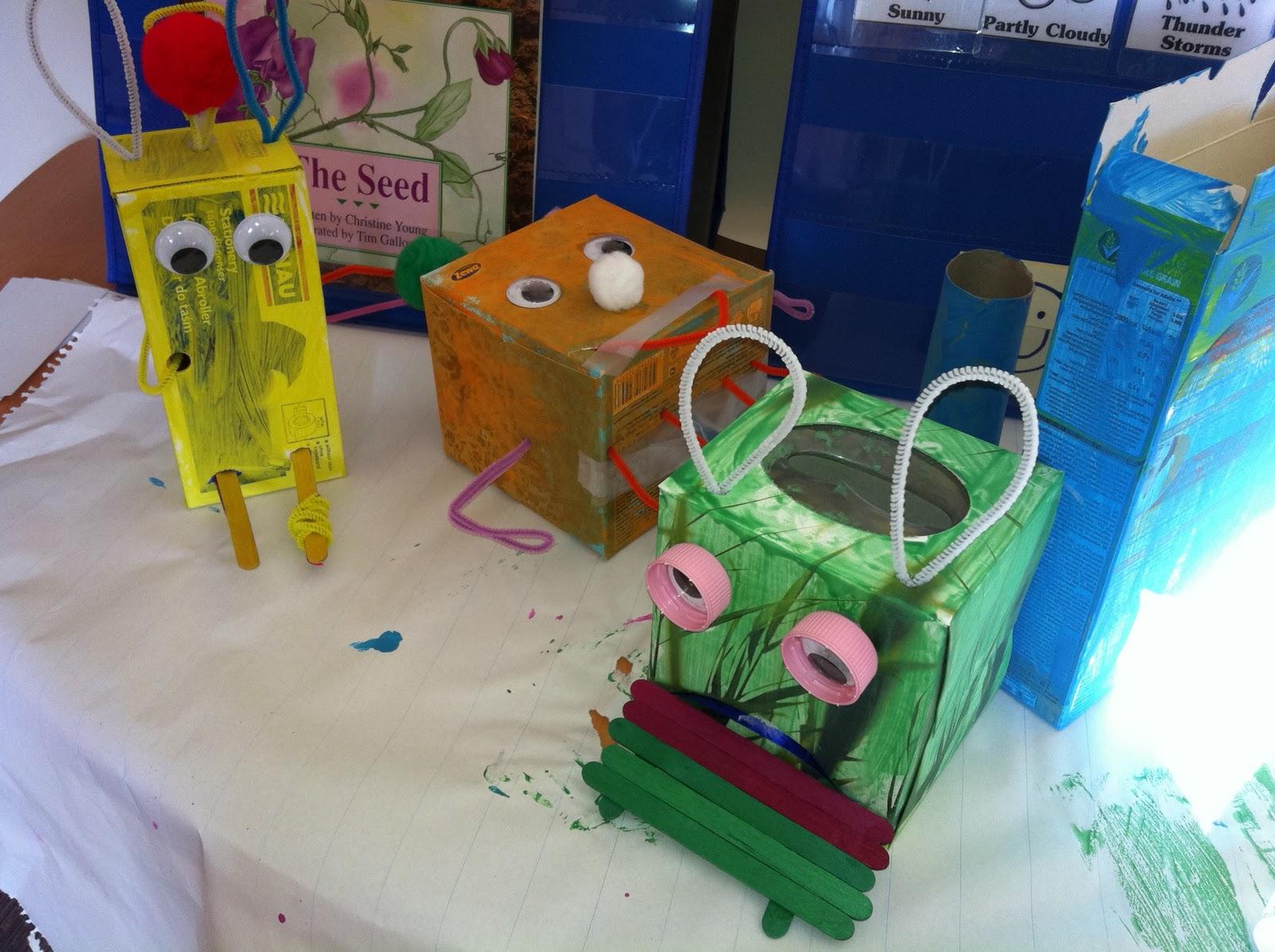 Last Minute Halloween Craft: Little Monsters!}