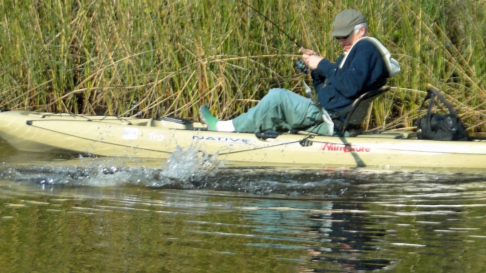 Southern kayak kronicles kayak fishing is the fastest for Fastest fishing kayak