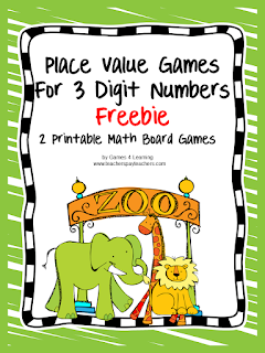 www.teacherspayteachers.com/Product/Place-Value-Games-691227