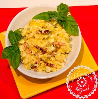 Elcalderonazari ensaladas ensalada alemana de patatas - Ensalada alemana de patatas ...