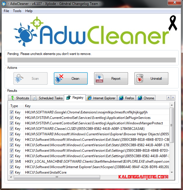 Cara Hapus Adware yang Mengganggu Dengan AdwCleaner