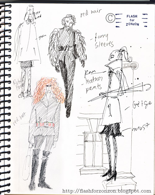 Streetstyle Sketchbook Drawings