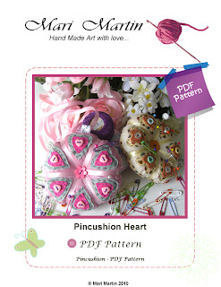Pincushion Heart Pattern