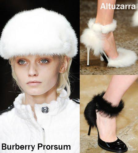 обувки от козина мода зима 2012
