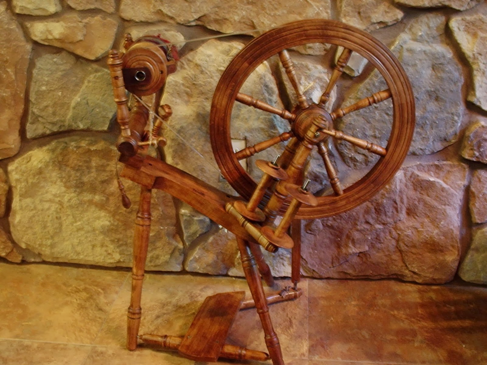 My spinning wheel, Kromski Prelude Spinning Wheel